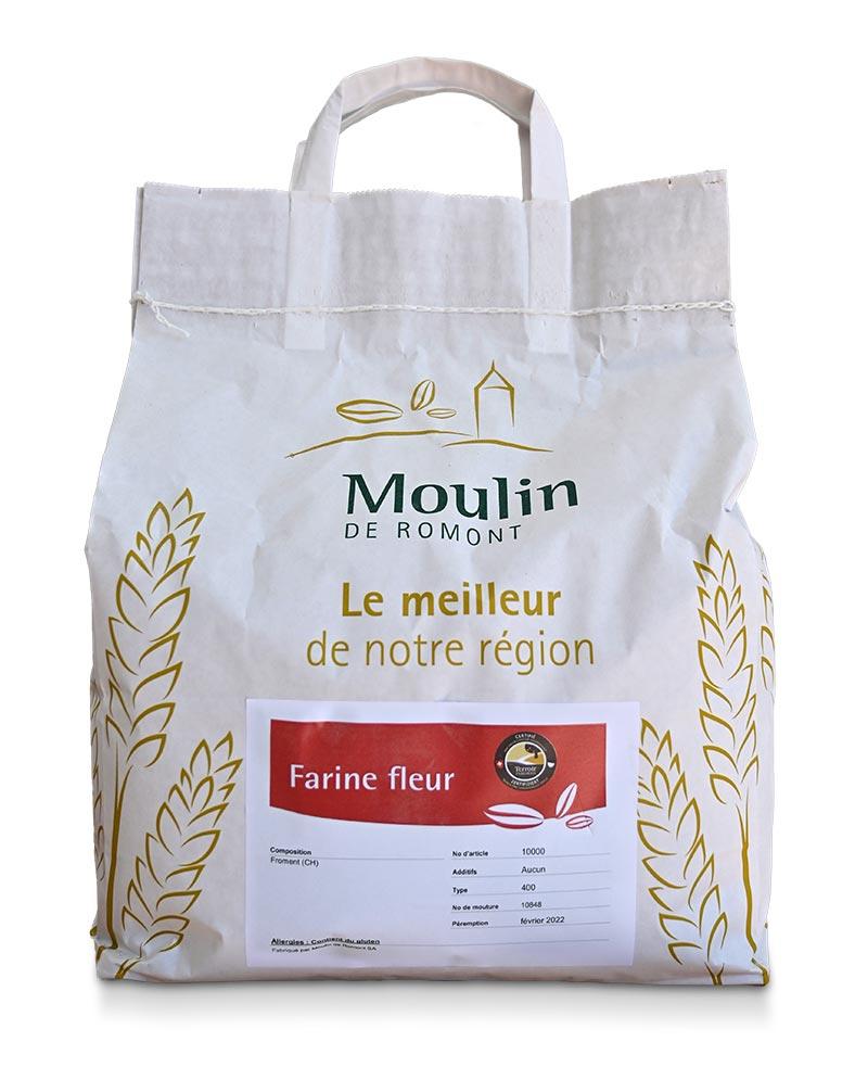 Farine fleur - Produit régional de qualité supérieure