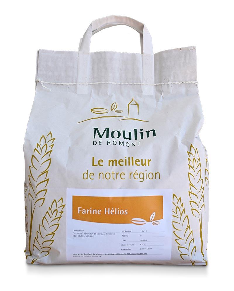 Farine Hélios - Produit régional de qualité supérieure