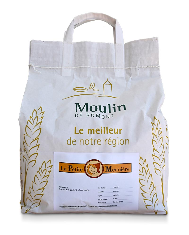 Farine La Petite Meunière - Produit régional de qualité supérieure