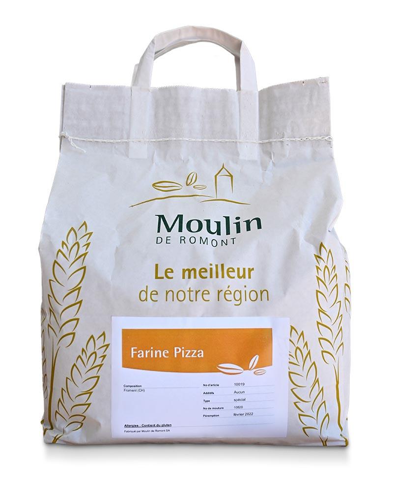 Farine à Pizza - Produit régional de qualité supérieure
