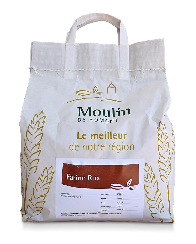 Farine Rua - Produit régional de qualité supérieure