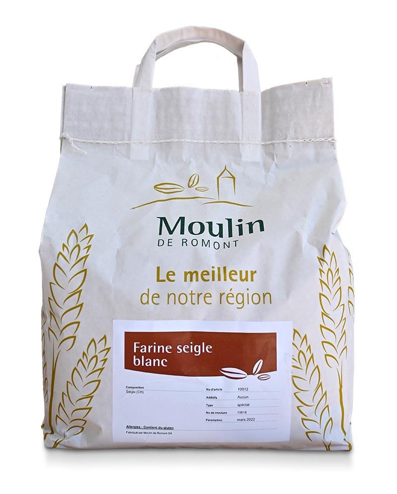 Farine seigle blanc - Produit régional de qualité supérieure